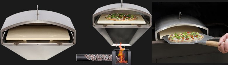 Wood-Fired Pizza Attachment - Green Mountain Grills @ Sunset Feed Miami
