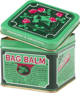Bag Balm for dry chapped cracked skin at Sunset Feed Miami