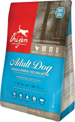 orijen-adult-dog-biologically-appropriate-freeze-dried-dog-food-at-sunset-feed-miami