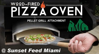 Green Mountain Grills Pizza Oven Attachment @ Sunset Feed Miami