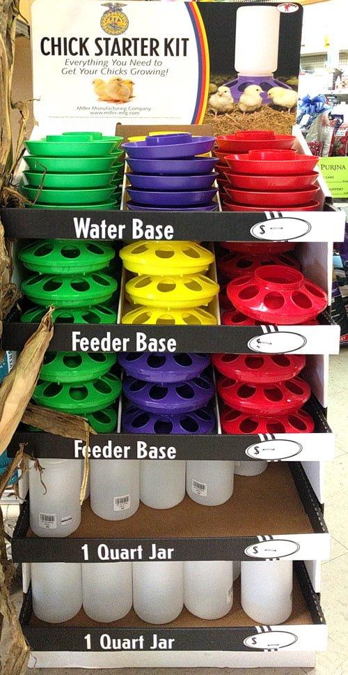 chicken-starter-kit-feeder-waterer @ sunset feed miami
