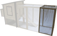 New Age Pet ecoFLEX Fremont Chicken Coop Pen Extension