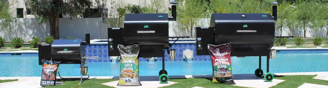 Green-Mountain-Grills-Pellet-Grill-lineup-@-Sunset-Feed-Miami