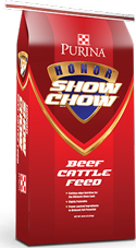 Purina-Show-Chow-Beef-Cattle-Feed @ sunset feed miami