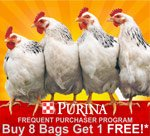 Purina Poultry Feed Frequent Buyer Program @ Sunset Feed Miami