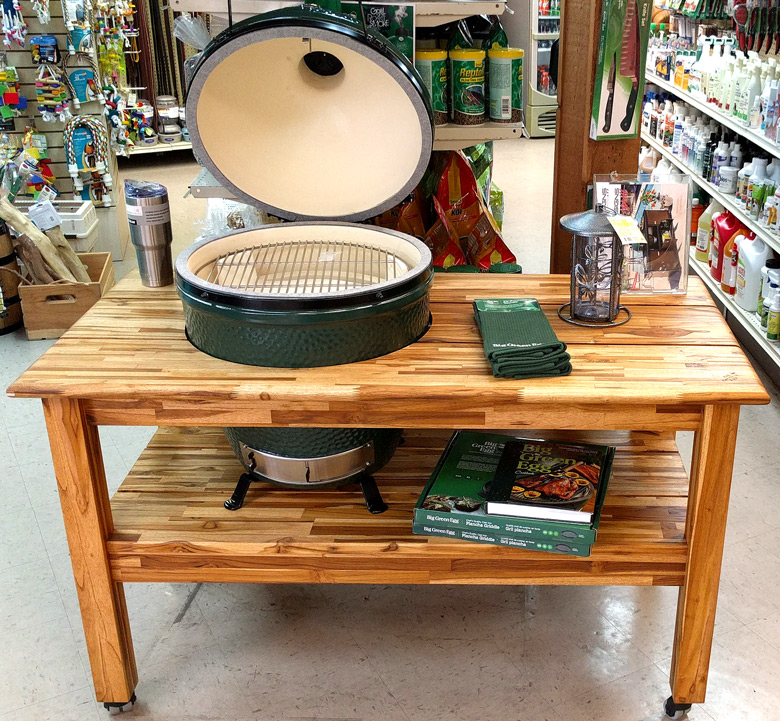 Big Green Egg Bbq Grill And Smoker Sunset Feed Amp Supply
