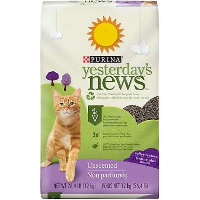 Purina Yesterday's News® Brand Softer Texture Unscented Cat Litter