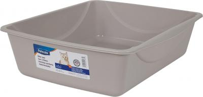 petmate-grey-basic-litter-pan