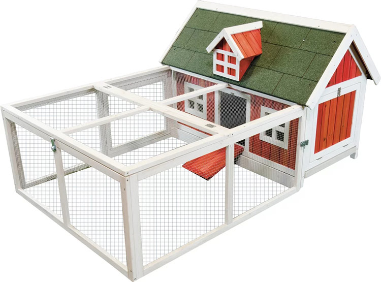 Ware Mfg. Little Red Barn Chicken Hutch