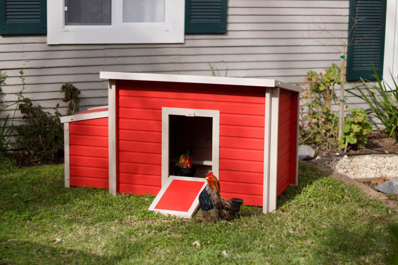 ecoFLEX Fontana Chicken Barn Standard Red