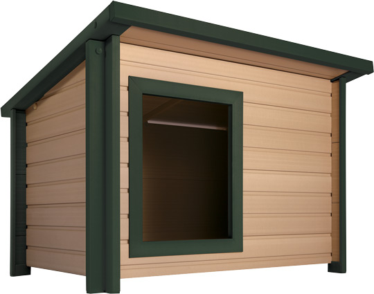 Pet housing dog houses kennels crates sunset feed for Dog house miami