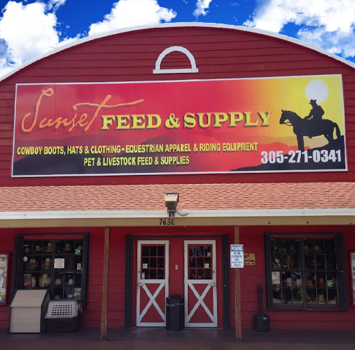 Sunset Feed and Supply Storefront