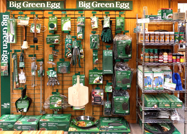 Big Green Egg EGGcessories @ Sunset Feed & Supply