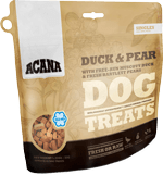 acana-singles-treats-duck-pear-formula-dog-food-at-sunset-feed-miami