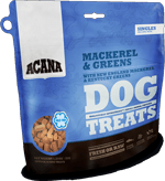 acana-singles-treats-mackerel-greens-formula-dog-food-at-sunset-feed-miami