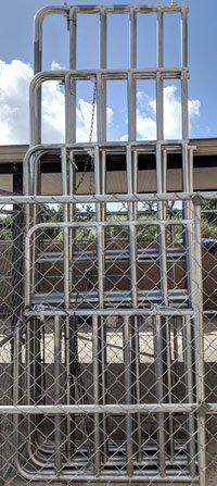 Galvanized Corral Panel Gates @ Sunset Feed Miami