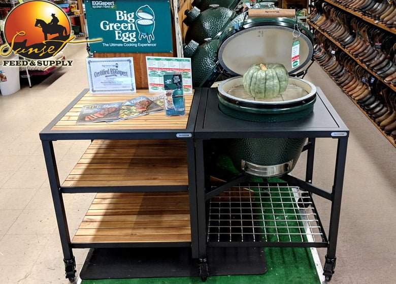 Surprising Big Green Egg Nests Mates Tables Covers Sunset Feed Interior Design Ideas Clesiryabchikinfo