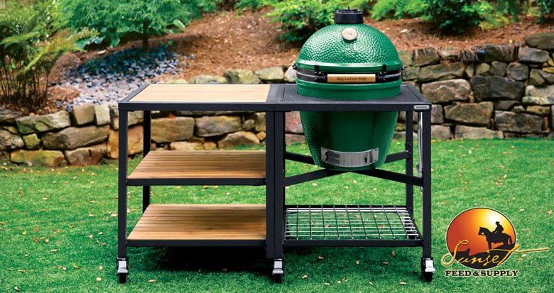 Excellent Big Green Egg Nests Mates Tables Covers Sunset Feed Beutiful Home Inspiration Truamahrainfo