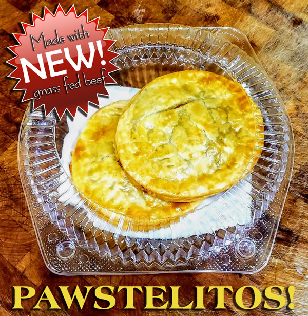 NEW Pawstelitos from Doggie Bag Cafe