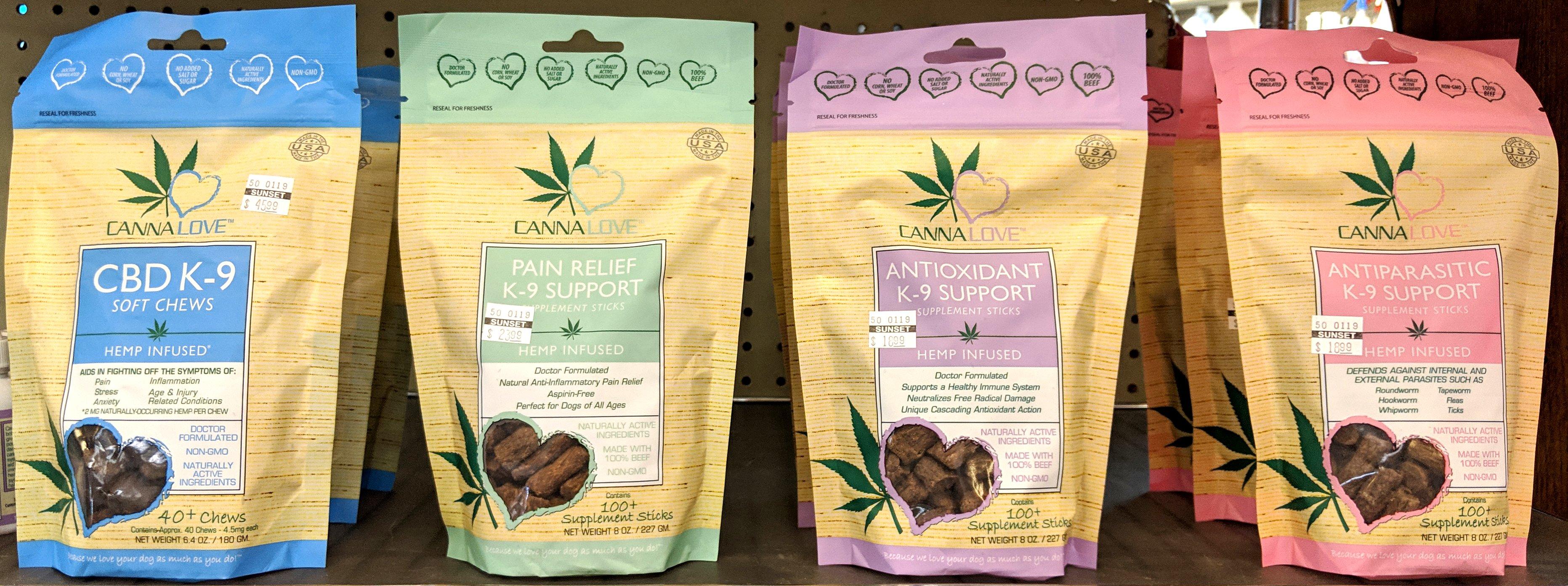 CBD K-9 Soft Chews, CBD Pain Relief K-9 Support, CBD Antioxidant K-9 Support, CBD Antiparasitic K-9 Support