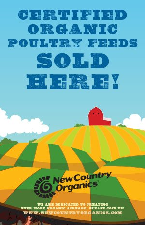 New Country Organics Poultry Feed @ Sunset Feed Miami