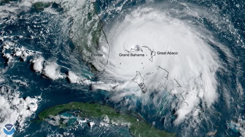 hurricane dorian slams the bahamas