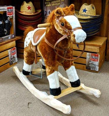 rocking-horse-brown @ sunset feed miami