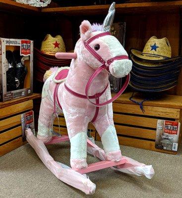 rocking-horse-pink @ sunset feed miami