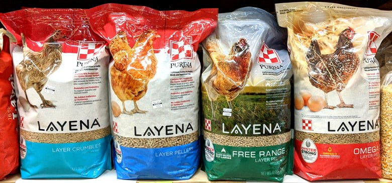 Purina-Layena-Poultry-Feed-10lb-PrePacks @ Sunset Feed Miami