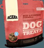 acana-singles-treats-beef-pumpkin-formula-dog-food-at-sunset-feed-miami
