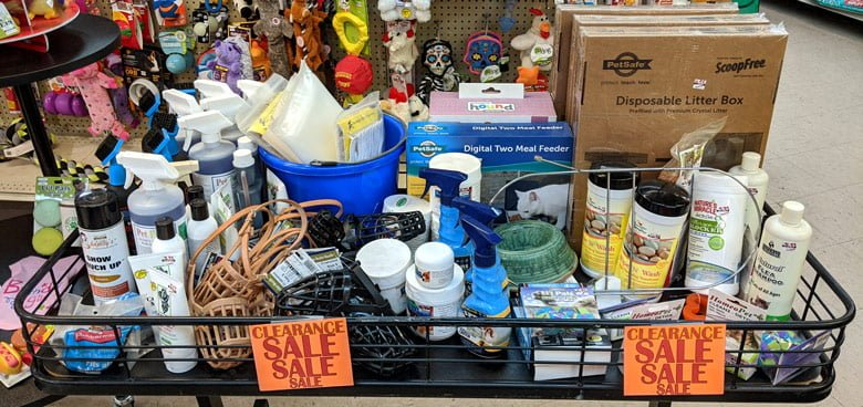 Pet-Department-Clearance-Table-@-Sunset-Feed-Miami