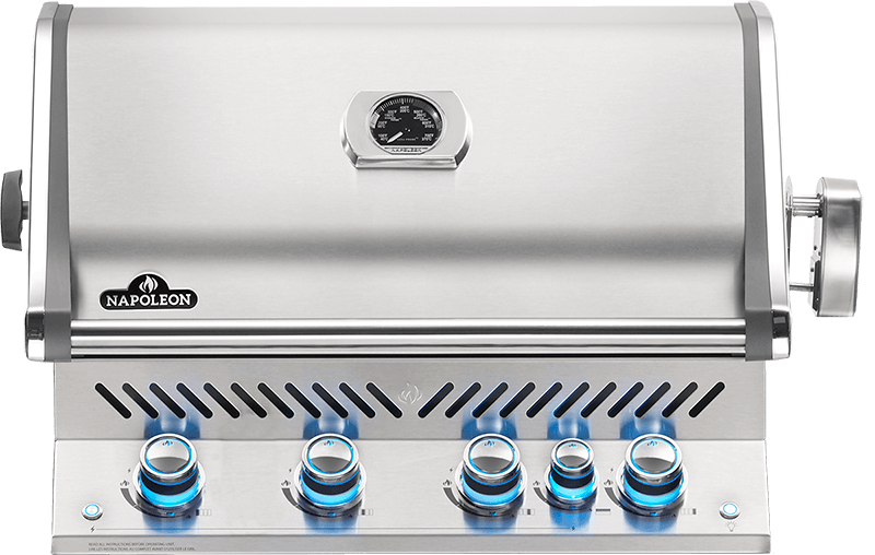Napoleon BUILT-IN PRESTIGE PRO 500 RB Grill @ Sunset Feed Miami