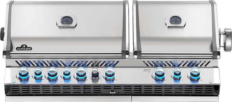 Napoleon BUILT-IN PRESTIGE PRO™ 825 RBI Grill @ Sunset Feed Miami