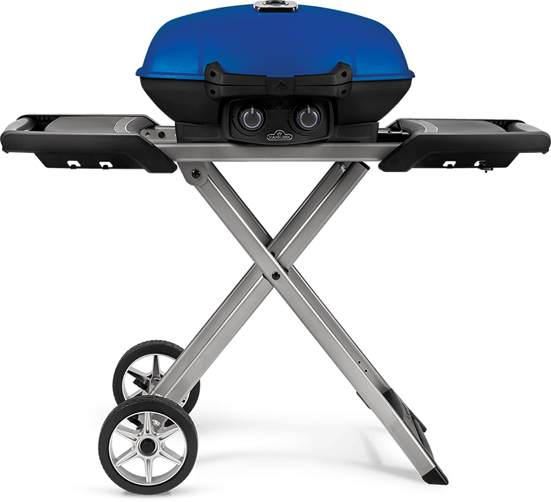 Napoleon TRAVELQ 285X Grill with Scissor Cart @ Sunset Feed Miami