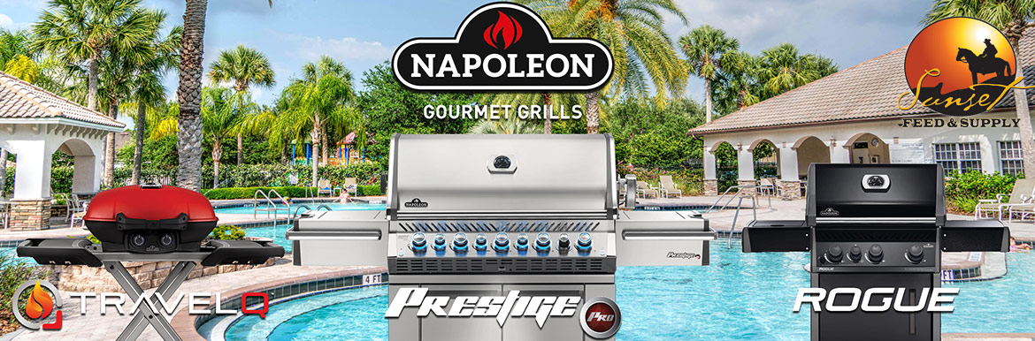 Napoleon Gourmet Grills & Accessories @ Sunset Feed Miami