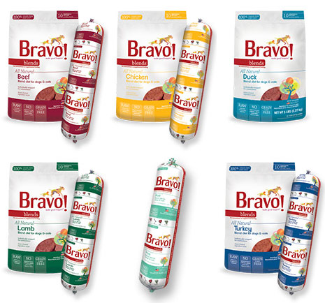 Bravo Blends raw diet for dogs @ Sunset Feed Miami