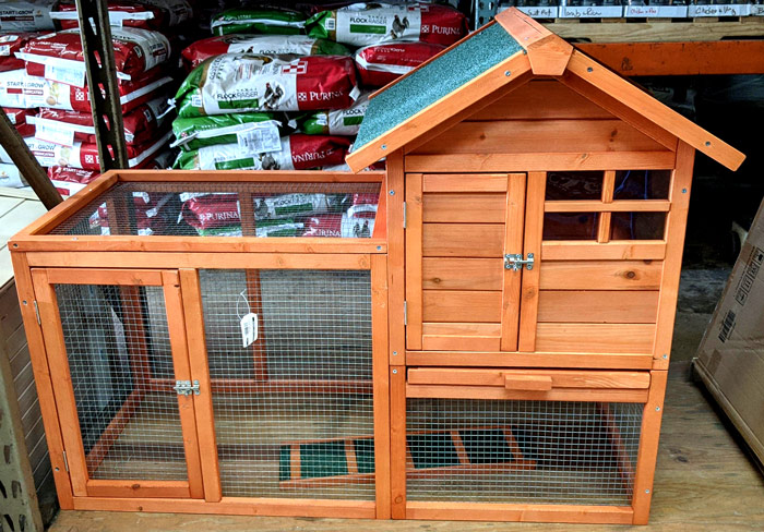 friese chicken coop @ sunset feed miami