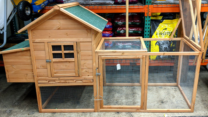 zebediah chicken coop @ sunset feed miami