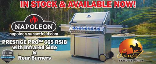 Napoleon Prestige Pro 665 in stock now @ Sunset Feed Miami