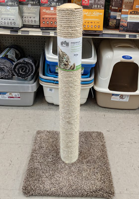 Cat Scratcher Post