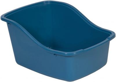 petmate hiback litter pan blue