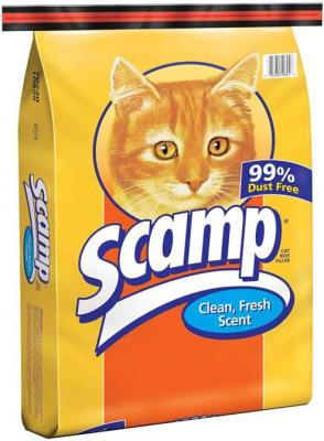 Scamp Non-Clumping Clean Fresh Scent Cat Litter