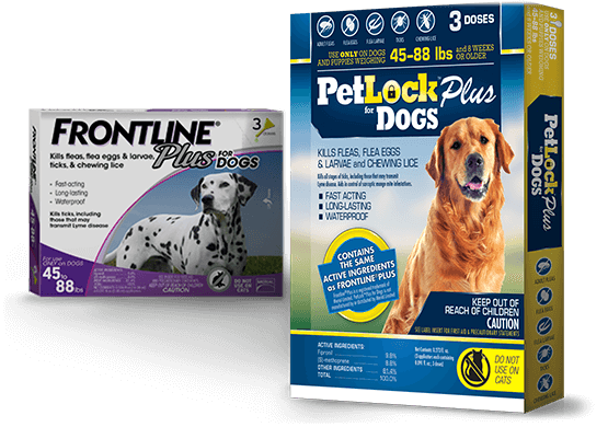 PetLock Plus Flea & Tick Control