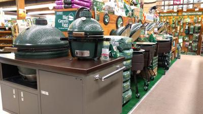 Big Green Egg Lineup & EGGccessories